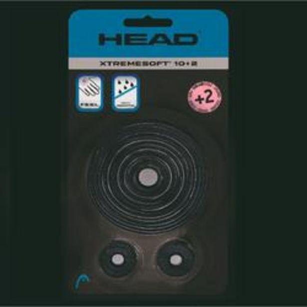 Oferta de OVERGRIP DE TENIS HEAD XTREM SOFT NEGRO LOTE DE 12 por 14,99€