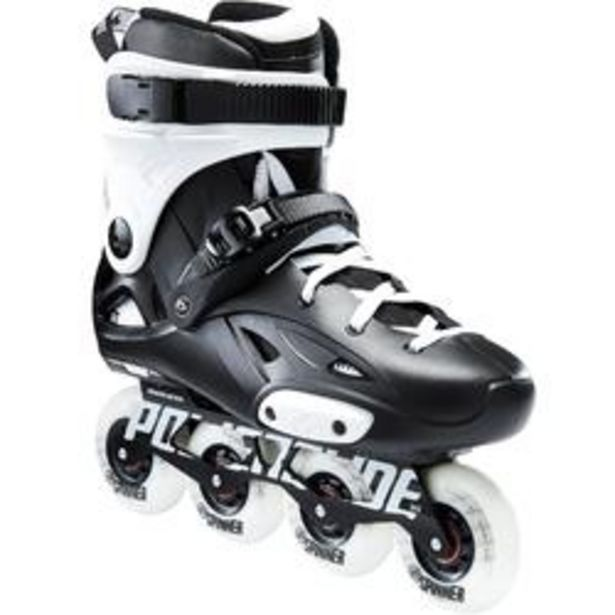 Oferta de Roller freeride adulto IMPERIAL ONE DUAL FIT blanco y negro por 109,99€