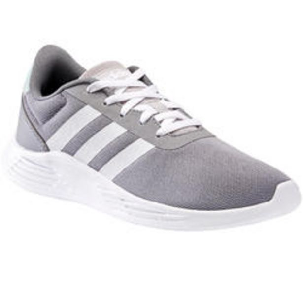 Oferta de Adidas Lite Racer Niños Zapatillas Caminar Gris por 29,99€
