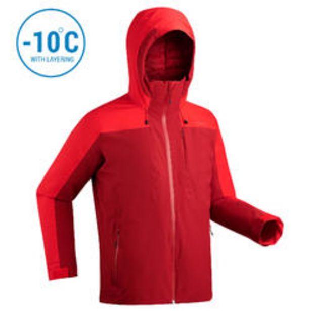 Oferta de Chaqueta de Esquí y Nieve Hombre Wedze Ski-P 500 Rojo por 54,99€