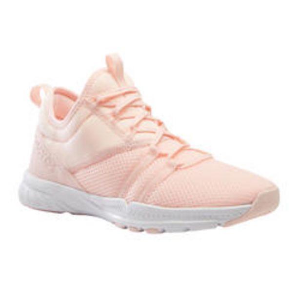 Oferta de Zapatillas de fitness mujer 120 coral por 16,99€