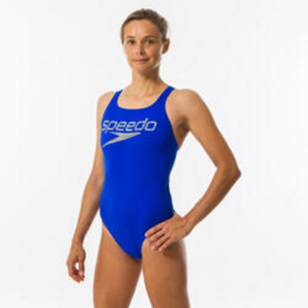 Oferta de Bañador Speedo Deportivo Natación Mujer Azul Medalist por 29,99€