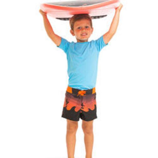 Oferta de Bañador Short 500 Niños Rojo por 7,99€
