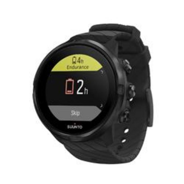 Oferta de Suunto 9 All Black Reloj GPS Pulsómetro Multideporte por 289,99€