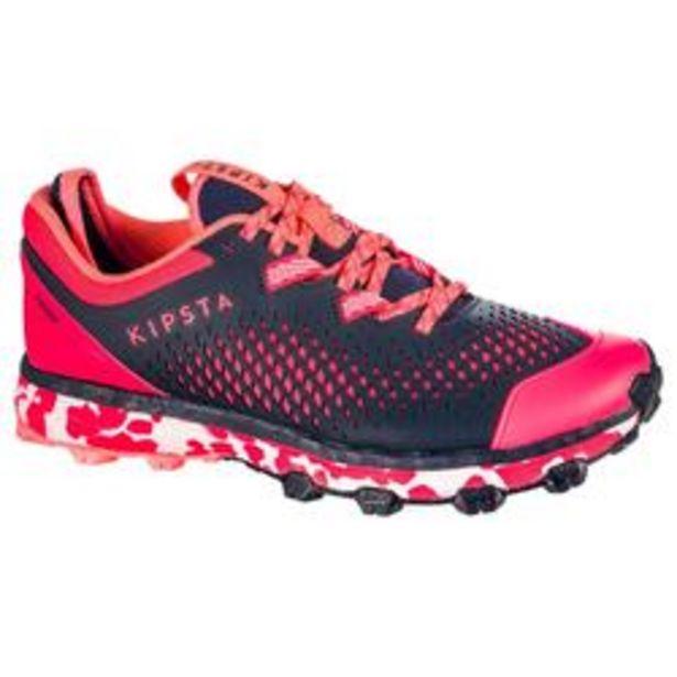Oferta de Zapatillas de Hockey Hierba Kipsta FH500 Mujer rosa por 49,99€