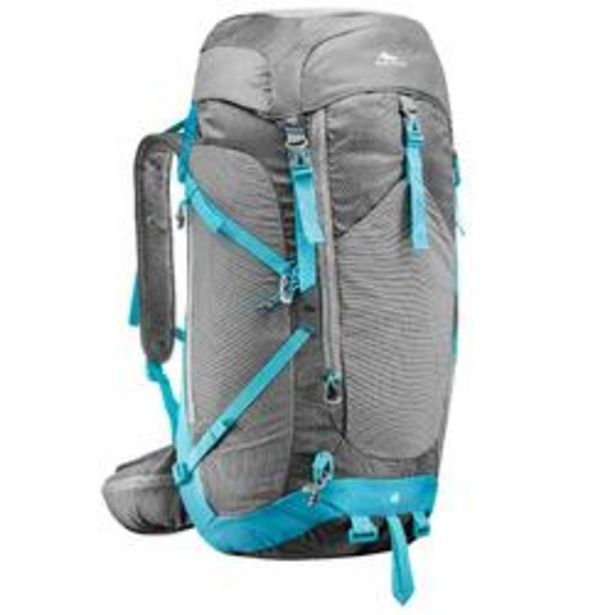 Oferta de Mochila de Montaña y Trekking, Quechua, MH500 40Litros, Funda Impermeable, Mujer por 44,99€