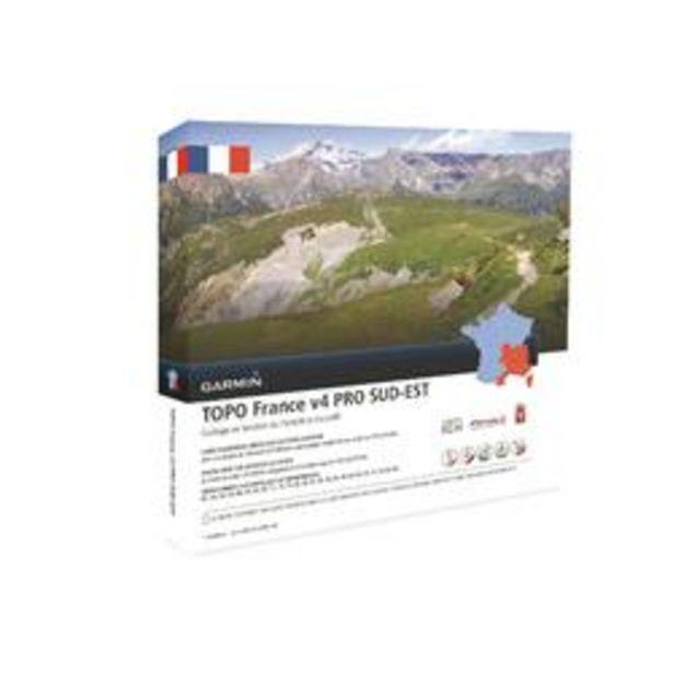 Oferta de Mapa Topográfico Montaña Y Trekking Garmin Sureste De Francia V4 por 79,99€