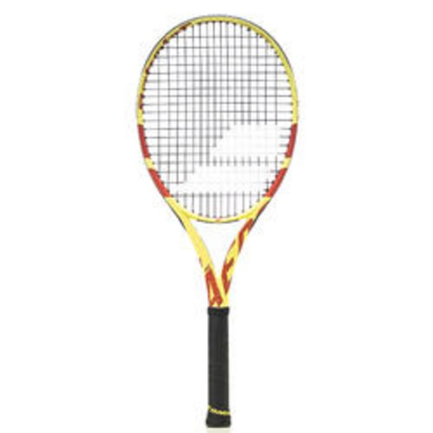 Oferta de Raqueta de Tenis Babolat Pure Aero Team Adulto Amarillo Rojo por 109,99€