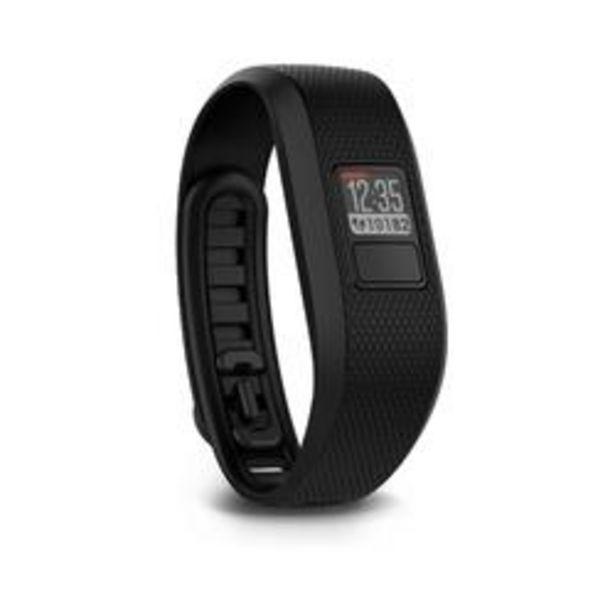 Oferta de Pulsera Actividad Garmin Vivofit 3 Negro por 39,99€