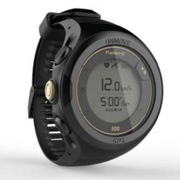 Oferta de Reloj de running GPS y pulsómetro en muñeca ONmove 500 edición limitada dorado por 78,99€
