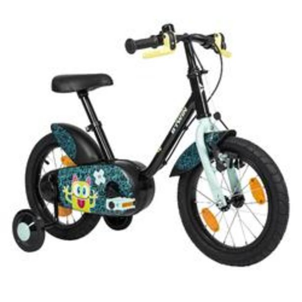 Oferta de REACONDICIONDO BICICLETA 14 PULGADAS 3-4,5 AÑOS 500 MONSTERS por 89,99€