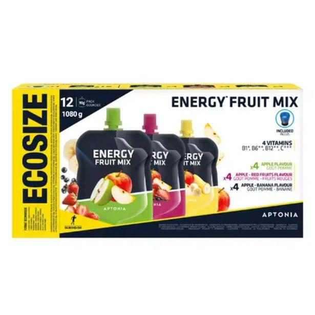 Oferta de Especialidad frutas energética 12x90g manzana, manzana-plátano, manzana-f. rojos por 6,99€