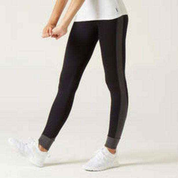 Oferta de Mallas Leggings mujer 510 algodón negro con motivo por 9,99€