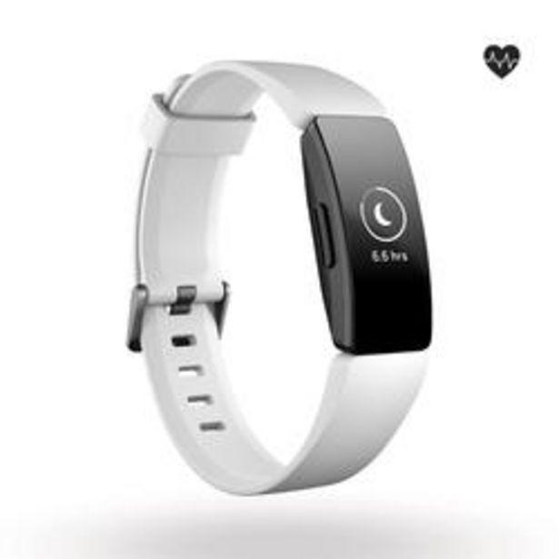 Oferta de Pulsera de Actividad Fitbit Inspire HR (pulsómetro en la muñeca) Blanco por 94,99€