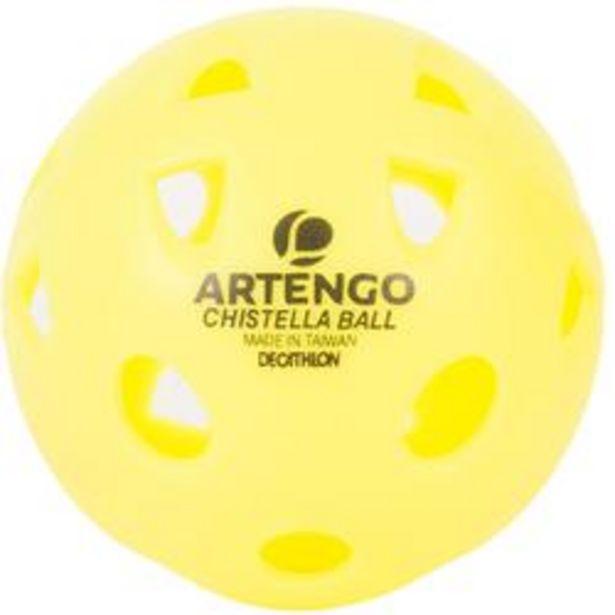 Oferta de Pelota Chistella Artengo Amarillo por 1,99€