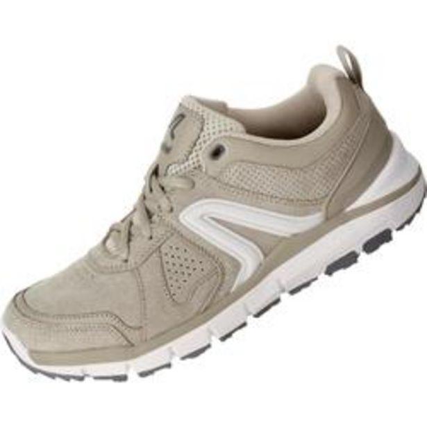 Oferta de Zapatillas para caminar de mujer HW 540 piel beige por 34,99€