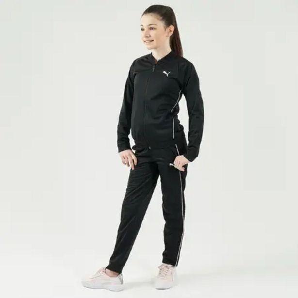 Oferta de Chándal niña niño Puma gimnasia deportiva negro rosa por 19,99€