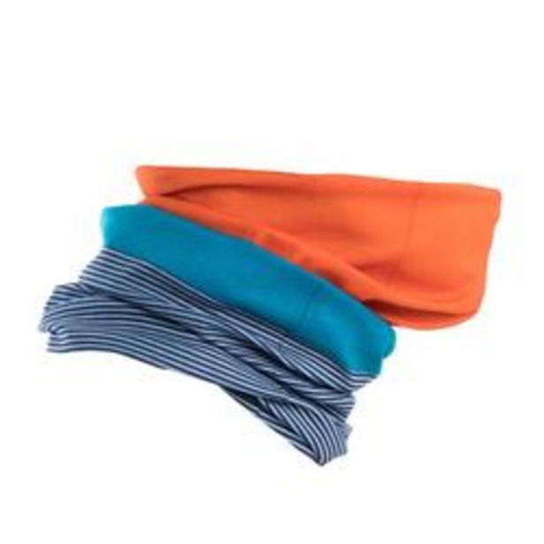 Oferta de BRAGA DE CUELLO CICLISMO ROADR 100 azul / naranja por 2,49€