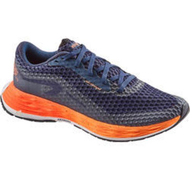 Oferta de Zapatillas Running Kiprun KD PLUS Mujer Azul/Naranja por 54,99€