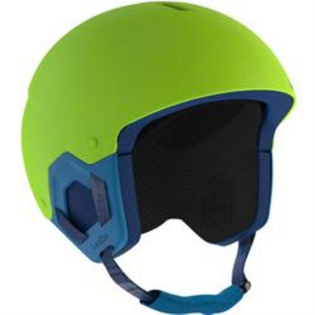 Oferta de Casco Esquí y Snowboard, Wedze, H-KID 500, Niños, Verde por 9,99€