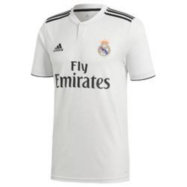 Oferta de Camiseta Real Madrid 18/19 local niños por 24,99€