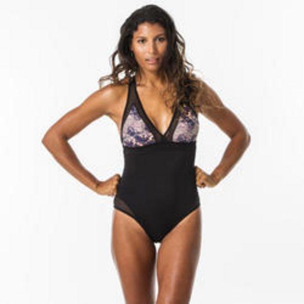 Oferta de Bañador Mujer Surf Olaian Isa Water Espalda Cruzada por 21,99€