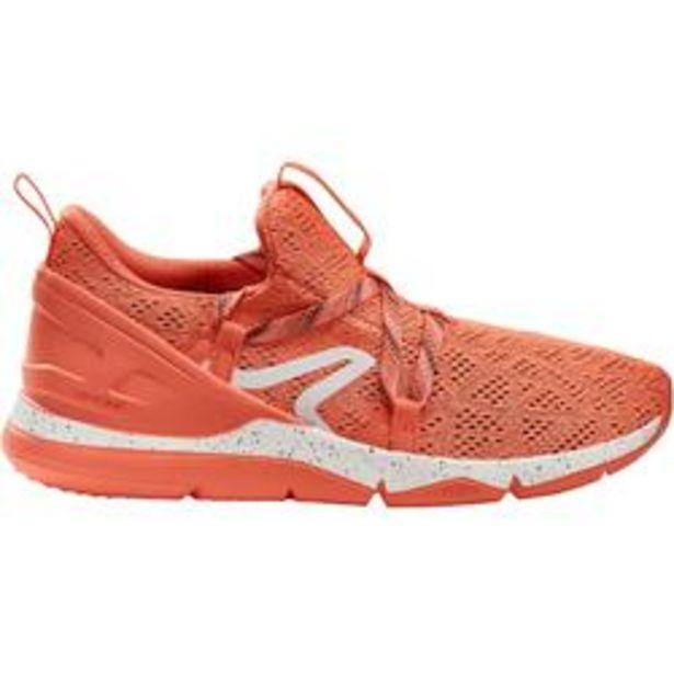 Oferta de Zapatillas Caminar PW 140 Mujer Rojo Coral por 12,99€
