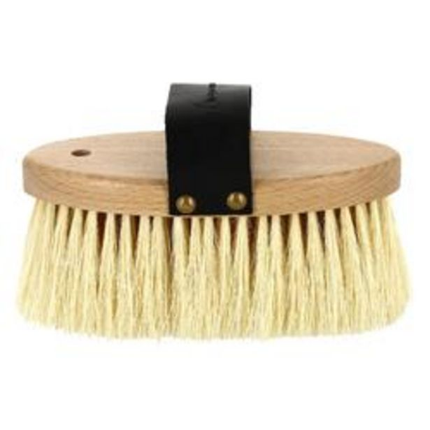 Oferta de Cepillo duro madera cerdas largas equitación SENTIER por 4,99€