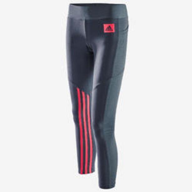 Oferta de Mallas leggins Adidas mujer 7/8 gris por 29,99€
