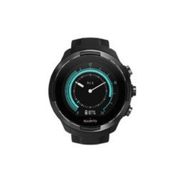 Oferta de Suunto 9 Baro Negro Reloj GPS Pulsómetro Multideporte por 469,99€