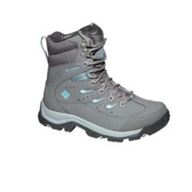 Oferta de Botas impermeables de Montaña y Trekking, Columbia, Hailstone, Mujer, Gris por 64,99€