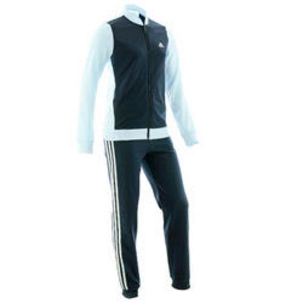 Oferta de Chándal niño niña Adidas gimnasia deportiva turquesa azul marino por 24,99€