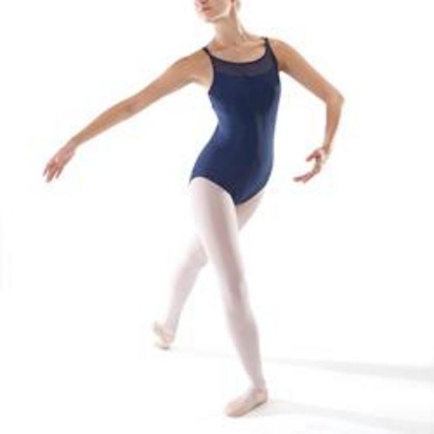 Oferta de Maillot Ballet Domyos Mujer Tirantes Cruzados Azul Marino por 7,99€