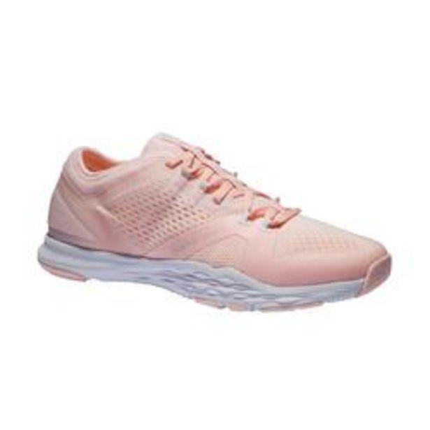 Oferta de Zapatillas Fitness Domyos 900 Mujer Rosa Pastel por 24,99€