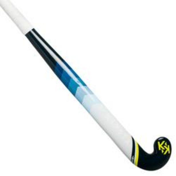 Oferta de Stick Hockey Hierba Kipsta FH110 fibra de vidrio amarillo por 24,99€