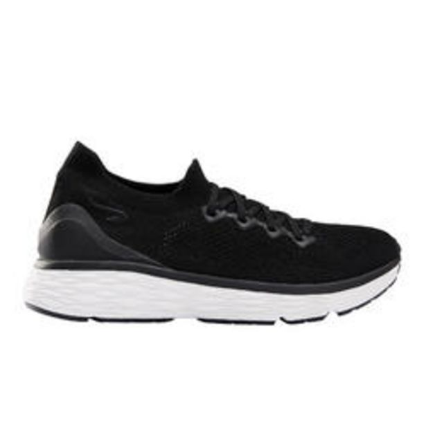 Oferta de Zapatillas Running Kalenji Confort Knit Mujer Negro por 34,99€