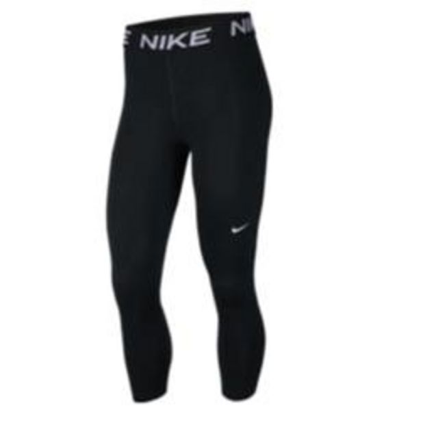 Oferta de Mallas Leggins piratas Mujer Nike Fitness Gym negro por 18,99€