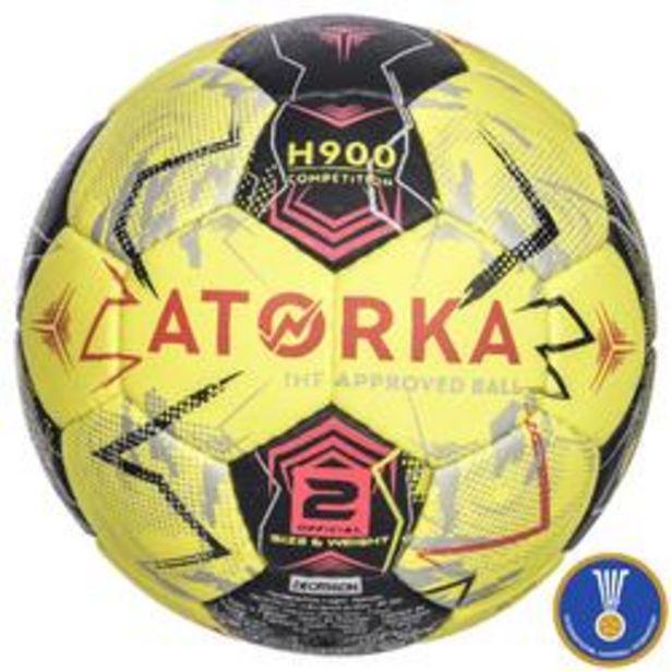 Oferta de Balón de balonmano H900 IHF Talla 2 amarillo / gris por 19,99€