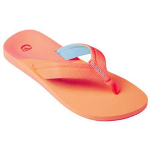 Oferta de Chanclas Niña de Playa de Dedo Olaian 550 de Tela Coral por 8,99€