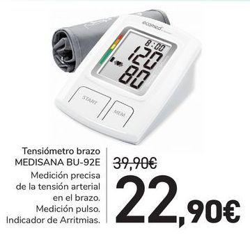 Oferta de Tensiómetro brazo MEDISANA BU-92E por 22,9€