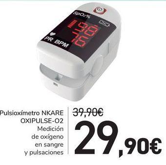 Oferta de Pulsioxímetro NKARE OXIPULSE-O2 por 29,9€
