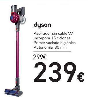 Oferta de Aspirador sin cable V7 Dyson por 239€