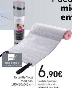 Oferta de Esterilla Yoga por 6,9€