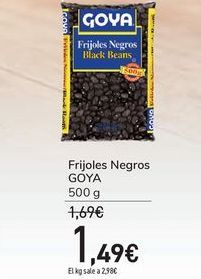 Oferta de Frijoles Negros GOYA por 1,49€