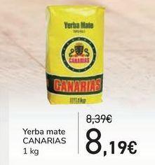 Oferta de Yerba mate CANARIAS por 8,19€