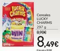 Oferta de Cereales LUCKY CHARMS por 8,49€