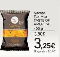 Oferta de Nachos Tex-Mex TASTE OF AMERICA por 3,25€