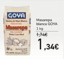Oferta de Masarepa blanca GOYA por 1,34€