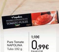 Oferta de Pure Tomate NAPOLINA por 0,99€