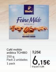 Oferta de Café molido arábica TCHIBO por 6,15€